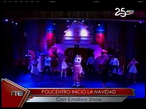 Policentro inició la navidad con emotivo show