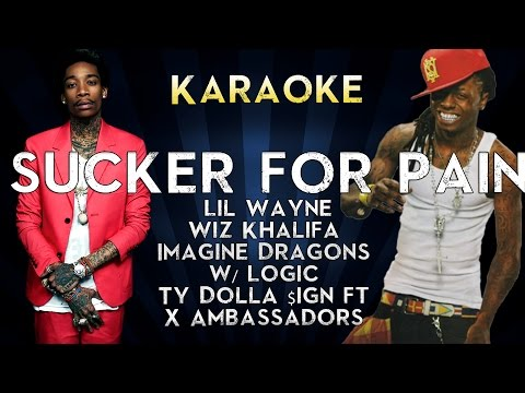 Sucker for Pain - Lil Wayne, Wiz Khalifa & Imagine Dragons | Official Karaoke Instrumental Lyrics