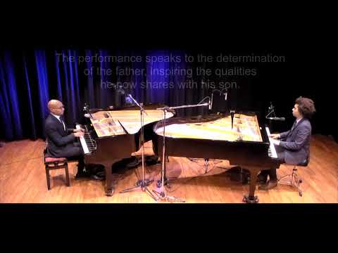 Father and Son DUELING PIANOS Montreal - Eddie & Quincy Bullen