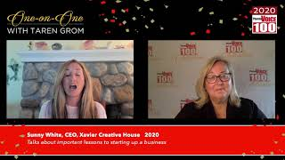 Sunny White, Xavier Creative House – 2020 PharmaVOICE 100 Celebration