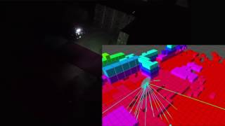 Autonomous Exploration in Darkness using NIR Visual-Inertial-Depth Localization and Mapping
