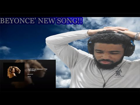 """BEYONCE-SPIRIT (FROM """"THE LION KING"""") OFFICIAL AUDIO!! (REACTION)"""
