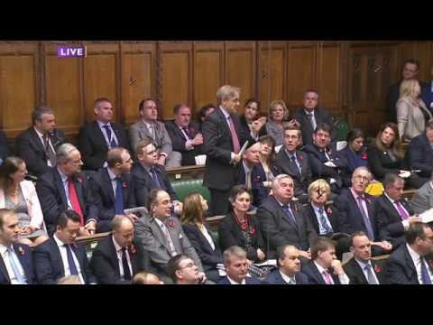 Charles Walker MP on freedom of speech and religion at PMQs 02/11/2016