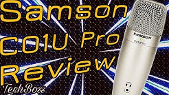 Samson C01u Pro Mikrofon Test Review | Deutsch | TechBoss | 2018