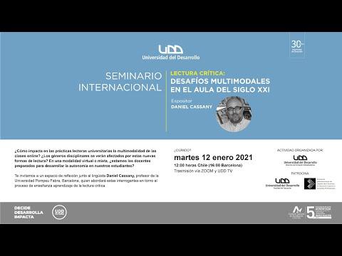 Seminario Internacional de Lectura Crítica: Desafíos multimodales en el aula del Siglo XXI