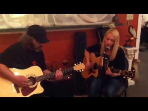 """Stacey Skaggs & Jimmy Fleming - """"To the Moon"""" Live @ the Park View Art Gallery"""