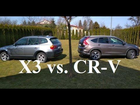 Bmw x3 vs honda cr v por wnanie wymiar w wielko ci for Honda cr v vs bmw x3