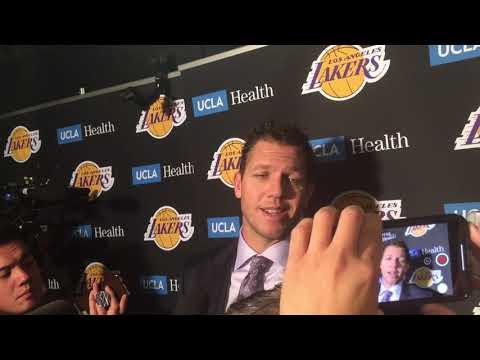 Luke Walton Postgame: Los Angeles Lakers @ Denver Nuggets [November 27, 2018]