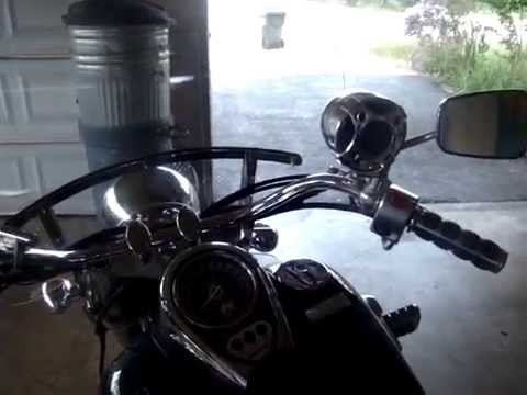 Shark Motorcycle 250 Watt Stereo System Youtube