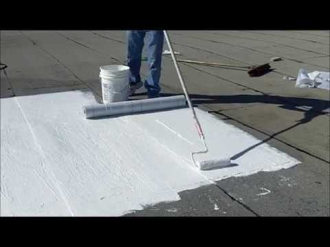 How To Repair A Flat Roof With Ponding Water Youtube
