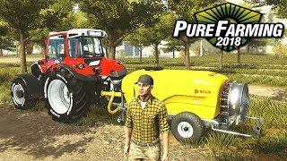 Sad jabłoniowy - Pure Farming 2018 | #34
