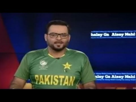 Pakistani news anchor abuse Indian cricketers
