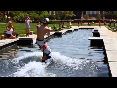 Wakeboarding Fountain - University of Maryland - ESPN Sports Nation