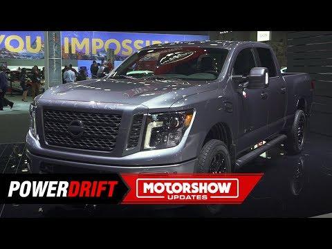 Nissan Titan and Titan XD : Tough and smart : 2019 Detroit Auto Show : PowerDrift