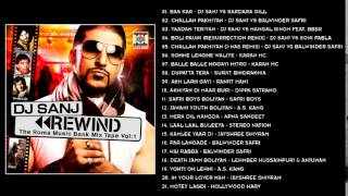 REWIND - DJ SANJ - FULL SONGS JUKEBOX