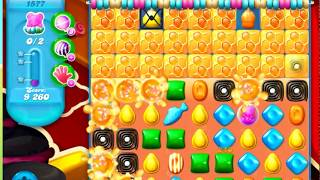Candy Crush Soda Saga Level 1577 - NO BOOSTERS *