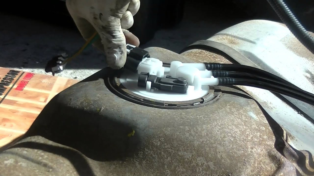 replacing a fuel pump chevy cavalier pontiac sunfire part replacing a fuel pump 1998 chevy cavalier pontiac sunfire part 2