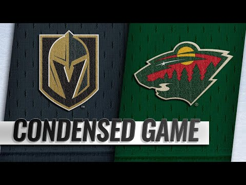 10/06/18 Condensed Game: Golden Knights @ Wild