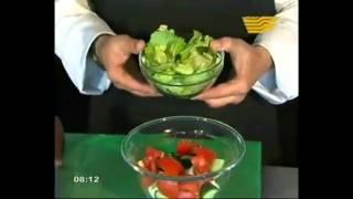 ІСКЕ СӘТ! Готовим салат из тунца.