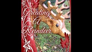 Creating a Wooden Reindeer for the Yard