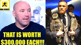 This is how much it cost The UFC to make just one of those old UFC Belts,Darren Till,Tyron Woodley