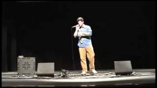 Mister Tim: Live-Looping intro and Groove is in the Heart : 2009 Las Vegas A Cappella Summit