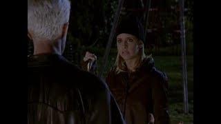 Баффи истребительница вампиров. Спайк предлагает Баффи союз против Энджела