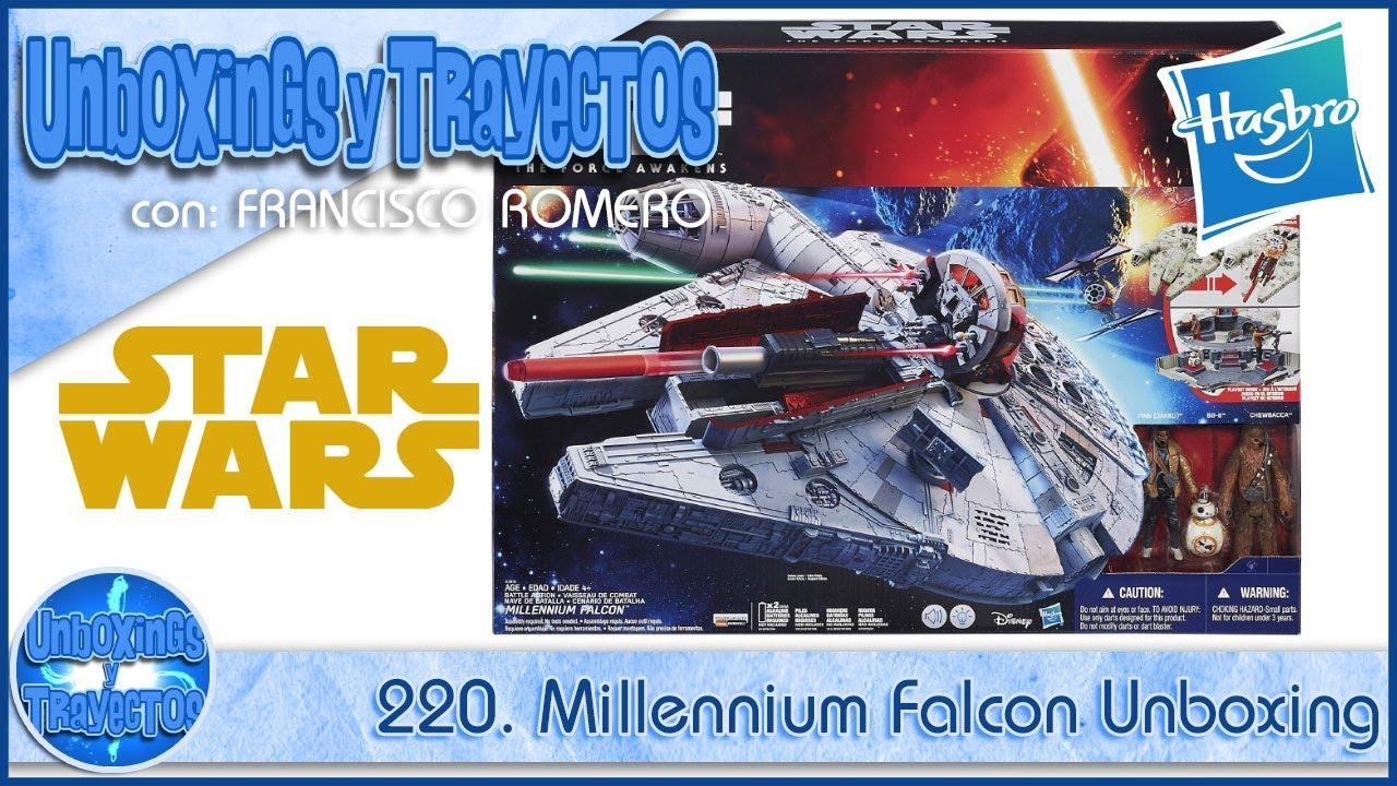 220. Millennium Falcon Unboxing