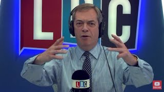 The Nigel Farage Show: Are you proud of Theresa May on the world stage? LBC - 25th January 2018