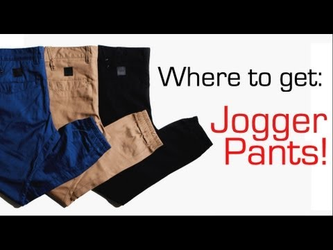 Where to get Jogger Pants WeAreTheTrend  YouTube
