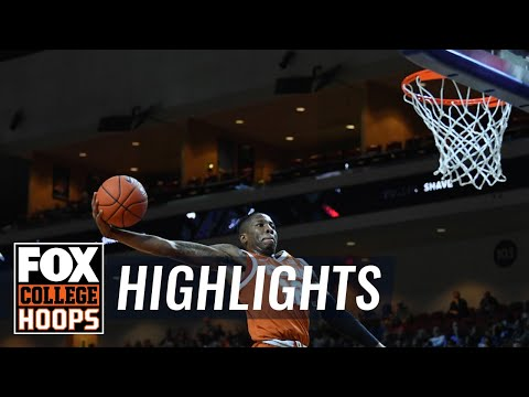 Texas vs. North Carolina | FOX COLLEGE HOOPS HIGHLIGHTS