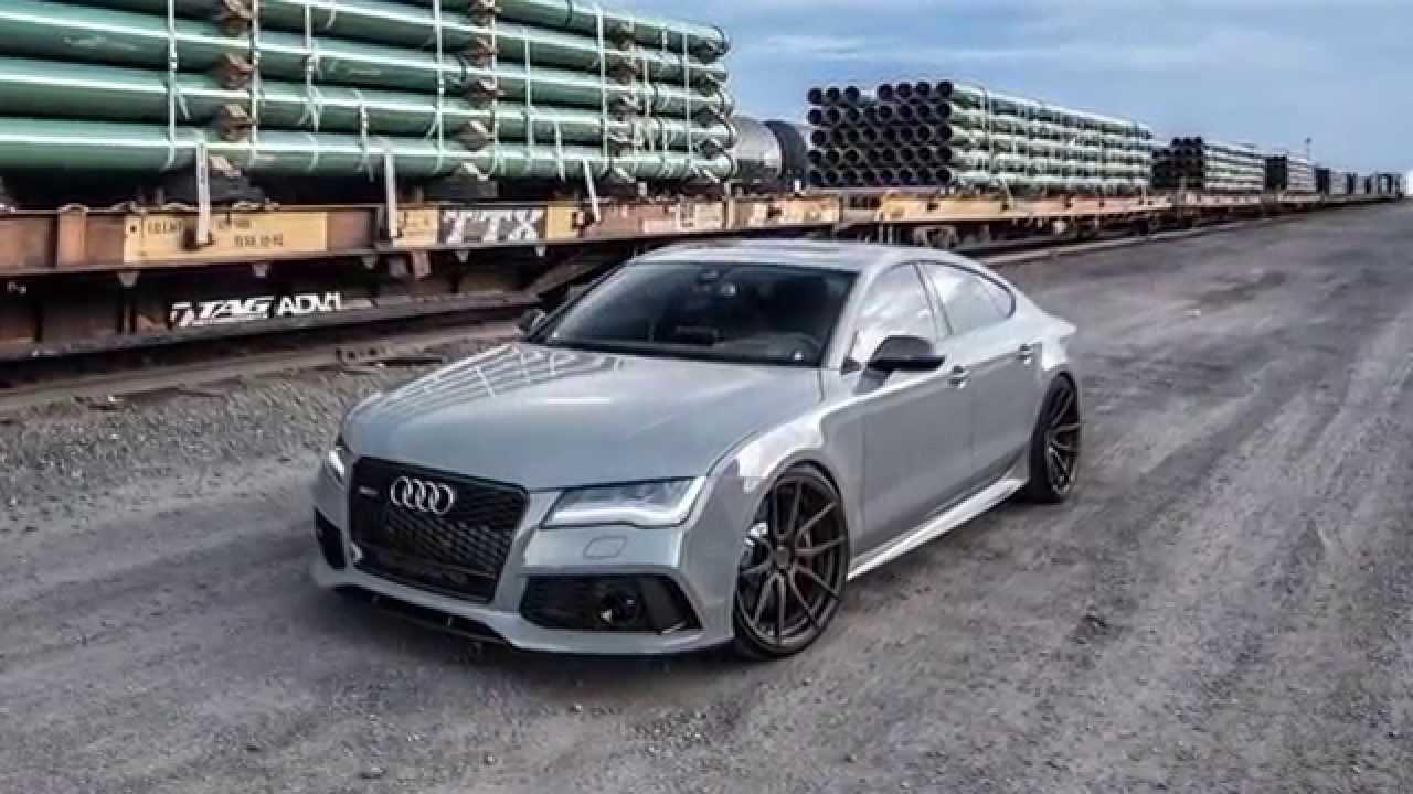 Audi Rs7 в цвете Nardo Grey на 21 дисках Adv5 0 Youtube