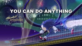 [SK ~INSTRUMENTAL~] Sonic CD - You can do anything (Keiko Utoku & Casey Rankin) [WATCH IN HD]