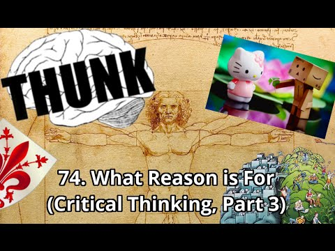 74. What Reason is For (Critical Thinking, | THUNK - YouTube