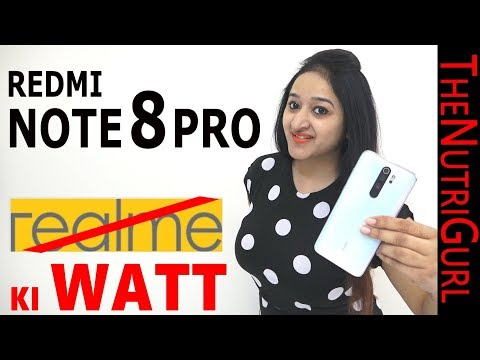 REDMI NOTE 8 PRO - Unboxing & Overview In HINDI(Indian Unit)