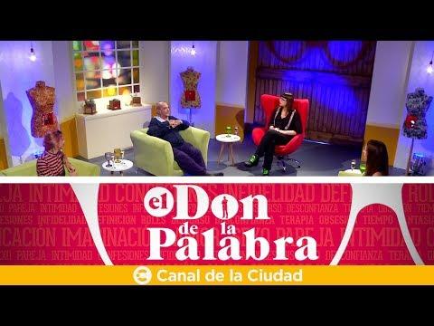 Rolando Hanglin, Victoria Onetto y Inés Palombo en El Don de la Palabra
