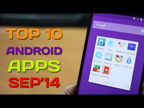 Top 10 Best Apps For Android 2014 (September)