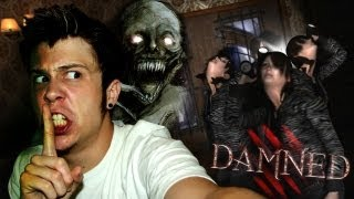 Tres Chicas Y Un Monstruo En Casa | Damned | W/ Mangel Y Town