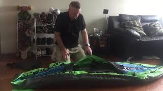 Bestway Sidewinder Rechargeable Air Pump and Intex Challenger K1 Inflatable Kayak