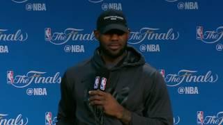 LeBron James - Media Availability #2 - Game 5 | Cavaliers vs Warrriors | June 11, 2017 | NBA Finals