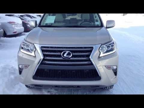 2014 Lexus GX 460 4WD Premium Package Review Alberta