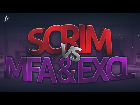 """Scrim Vs MFA & EXCL"" - Critical Ops"