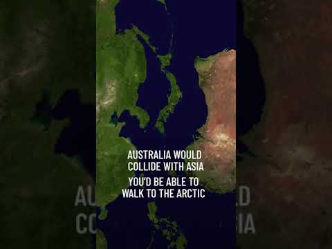 What If All Continents Joined Back Together? #Shorts
