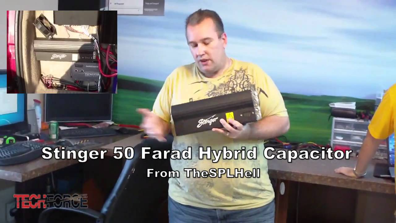 Stinger 50 Farad Hybrid Capacitor From TheSPLHell Give Away!