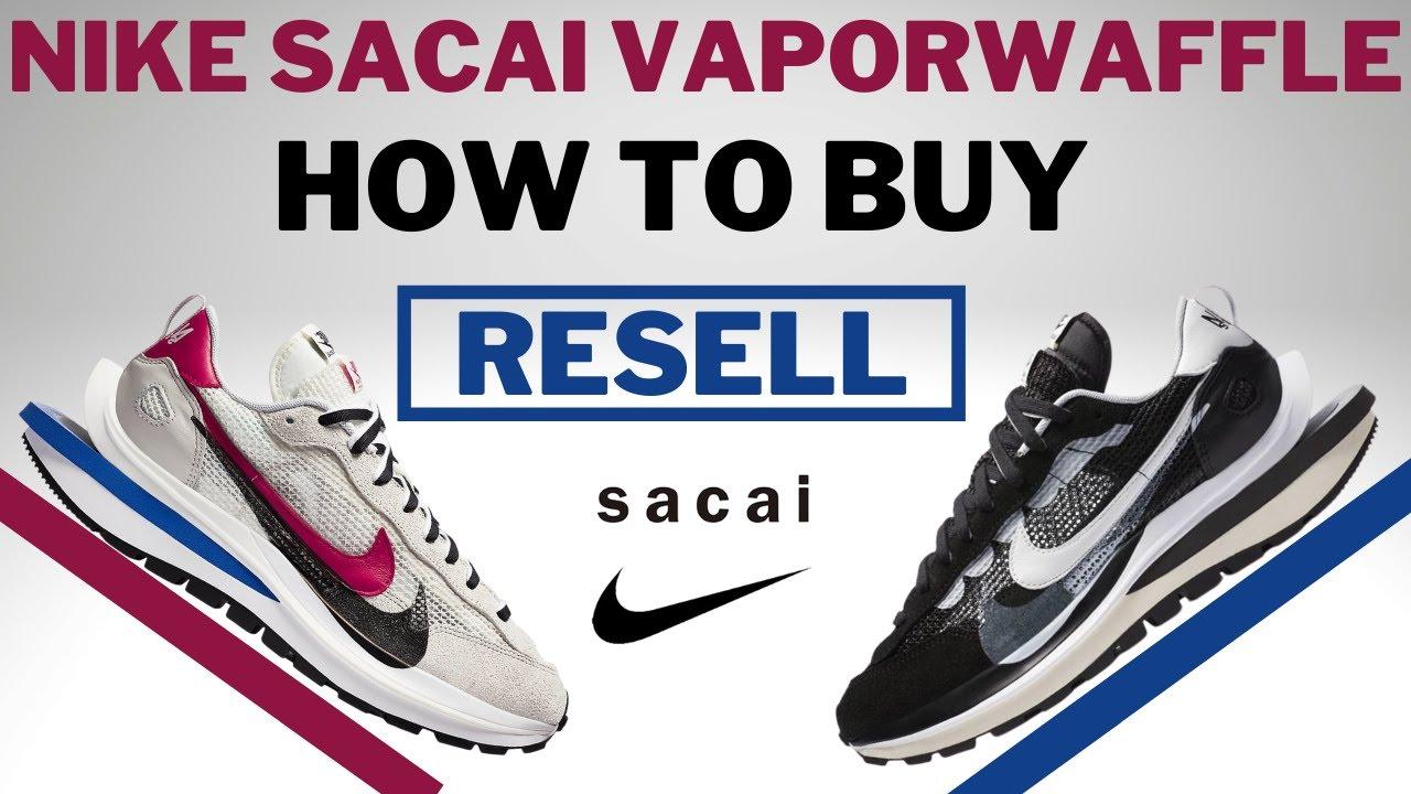 Nike Sacai Vaporwaffle RESELL