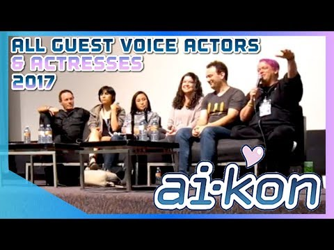 ANIME CONVENTION Q&A PANEL ft All Guest Voice Actors & Actresses  Ai  Kon Winnipeg 2017