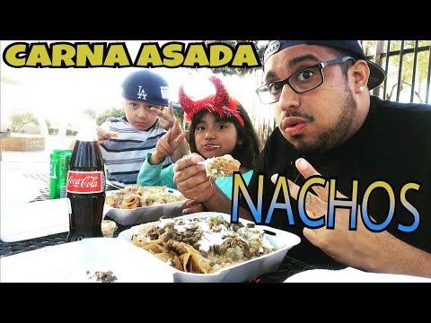 ⚠️CHEESY CARNE ASADA NACHOS & MEXICAN COKE MUKBANG/EATING SHOW MEXICAN NACHOS MUKBANG & EATING SHOW
