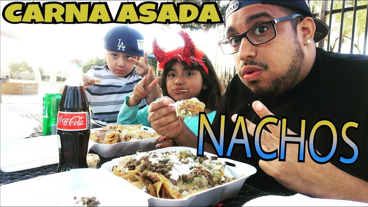 Cheesy Carne Asada Nachos Mexican Coke Mukbang Eating Show Mexican Nachos Mukbang Eating Show