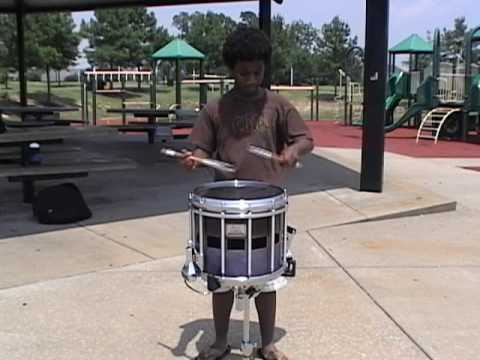 Amazing Championship Snare Solo performed by Jay