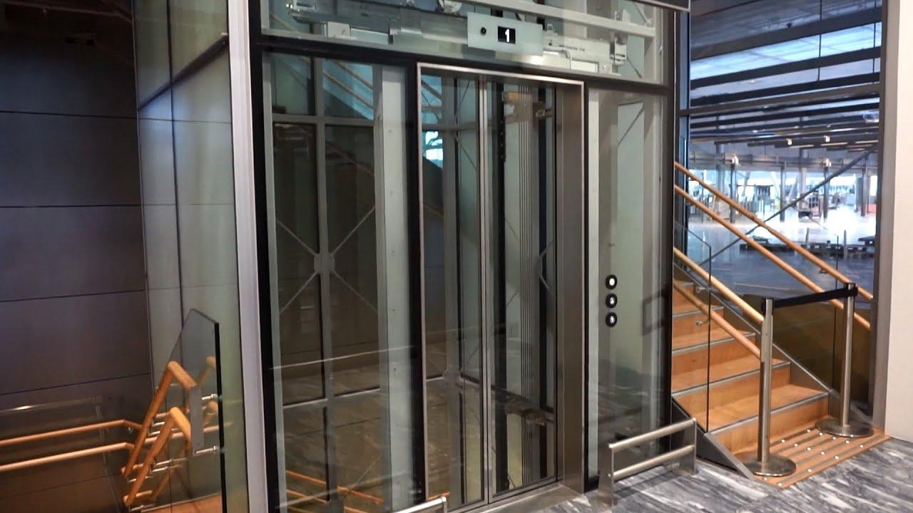 2017 Kone Monospace Mrl Traction Elevator Oslo Gardermoen Airport Osl Norway You